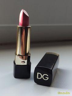 Dolce Matte,222 Dolce Rosa, Dolce & Gabbana, d&g, lipstick, pink lipstick, lips, lip care, makeup, beauty, beauty blogger, mmdm, high end makeup,
