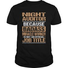NIGHT-AUDITOR - NIGHT-AUDITOR (Auditor Tshirts)
