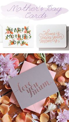 DON'T FORGET THE CARD: MOTHER'S DAY