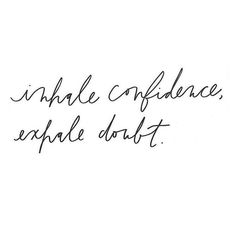 Inhale | Exhale #KaylaItsines #SweatWithKayla #Confidence