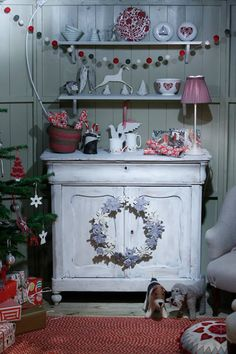 The Christmas Cabin styled by CL Magazine's Editorial Team, 2014 Country Living Magazine Christmas Fair in Glasgow