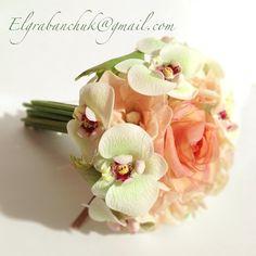 Цветы#ручная работа#цветы из полимерной глины#орхидеи#оригинальный подарок#handmade#flower#hobby#
