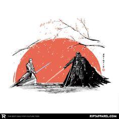 Sakura Showdown T-Shirt - Star Wars T-Shirt is $13 today at Ript!