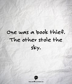 the book thief significant quotes word love books one was a book thief the other stole the sky the book thief by