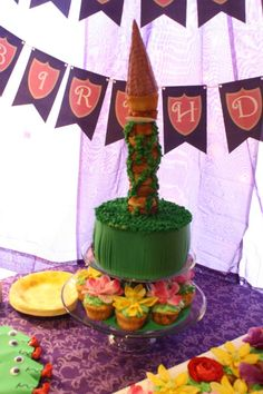 Tangled Birthday Party Ideas | Photo 1 of 20 | Catch My Party