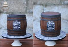 Whiskey barrel cake  by Sylwia