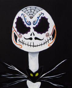 Jack Skellington De Los Muertos by JohnBVisualDesign on Etsy
