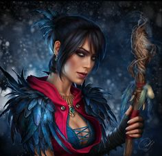 Dragon Age Origins Morrigan by AlenaEkaterinburg.deviantart.com on @DeviantArt