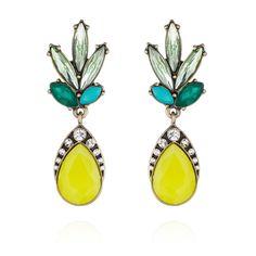Copacabana Post Drop Earrings Pineapple!! Hot trend for Summer 2015!! www.chloeandisabel.com/boutique/AmandaKnapp