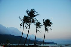 cloudy sky and moon by gienkhan, via Flickr