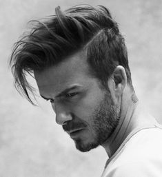 David beckham hairstyle, H&M 2015