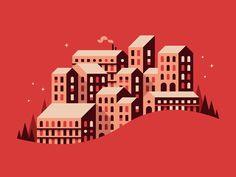 Sky City #1 illustration by Alex Pasquarella