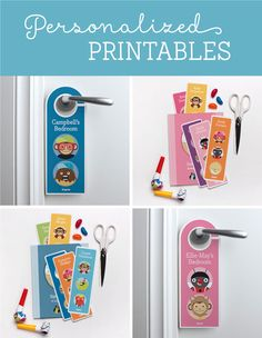 Personalized Printable Bookmarks & Door Hangers | Tinyme Blog