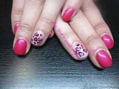 Wild in Love Gel Polish Valentines Nails
