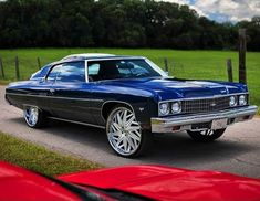 Turbo S, Twin Turbo, Donk Cars, Bad Azz, Old School Cars, Custom Paint Jobs, Big Wheel, Hype Shoes, Chevy Impala