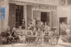 Rue Droite - Chamoine Laitteron maintenant) -Maison Bozzano (Les Cordonniers)