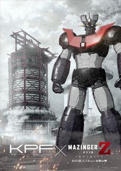 Mazinger-Z Infinity (2018) Robot Cartoon, Cartoon Fan, Cool Robots, I Robot, Anime Mech, Z Movie, Battle Robots, Japanese Robot, Super Robot