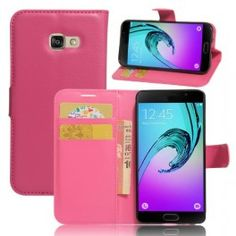 Samsung Galaxy A3 2017 pinkki puhelinlompakko