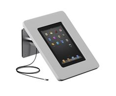 ipad dock with anti theft lock system for consultation tables