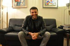 @David Serero at his place in #paris to WOMANWORD Fotografía de/ por  © Rocío Pastor Eugenio.  ® WOMANWORD ENTREVISTA. Maravillosa persona y un gran cantante de ópera. #MustKnow #Listen #know and #read David Serero , Opera Singer Baritone #interview A great international #opera #singer #baritone in WOMANWORD  http://womanword.com/2014/05/02/david-serero-life-is-to-be-happy-i-live-my-passion/ #interview #photo #video #text by Rocio Pastor Eugenio