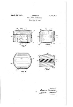 Patent US2314617 - Dolly block construction - Google Patents