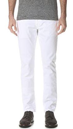 VINCE Vince Men'S Stretch Optic 718 Jeans. #vince #cloth #