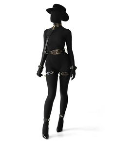 Swans Style is the top online fashion store for women. Shop sexy club dresses, jeans, shoes, bodysuits, skirts and more. Dark Fashion, Gothic Fashion, Lingerie Cuir, Looks Style, My Style, Fashion Outfits, Womens Fashion, Nylons, Ideias Fashion