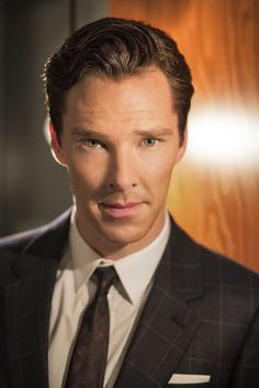 Benedict Cumberbatch for The Hollywood Reporter.
