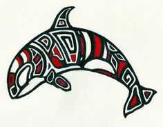 Orca Tattoo Design - might get an orca tattoo when I'm out in Seattle this spring for my 30th bday