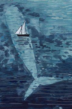 Painted illustration by Miranda Sofroniou