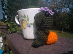 tiny turtle #crochet #amigurumi