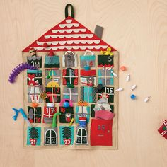 Shop Kids Holiday Advent Calendar. Need an extra hand this holiday season? The delightful characters on our Holiday Helper kids Advent Calendar are ready to help you hold various trinkets and goodies to make the countdown to Christmas a real treat.