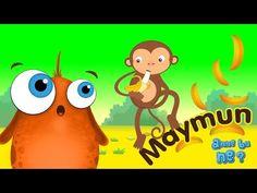 Maymunlar Neden Muz Yemeyi Sever? | Okul Öncesi Eğitici Animasyon | Anne Bu Ne? - YouTube
