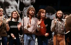 Andy, Barry, Robin, and Maurice Gibb