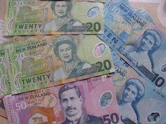 NZD- New Zeland dollar-kiwi money
