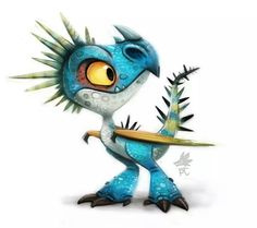 Stormfly from HTTYD. So cute <3