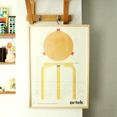 artek / Alvar Aalto [ Stool 60 ] poster