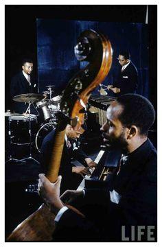 The Modern Jazz Quartet - John Lewis, Milt Jackson, Percy Heath and Connie Kay