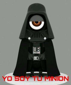 Minion Wars: Feel the Force! Vamers - Artistry - Fandom - Minion Wars Feel the Force - Star Wars and Despicable Me Mash-Up - Darth Vader Minion Darth Vader, Stormtrooper, Star Wars Film, Star Trek, Lego, Geeks, Minion Humour, Film Science Fiction, Despicable Me 2 Minions