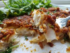 MMMMMMM........This is sooooo delicious!! I love fish...but I absolutely love a filet of fish with something so flavorful on top...like my Sun Dried Tomato Pesto!! This will make your everyday filet...