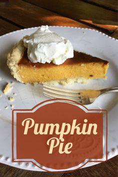 Deliziosa e facile ricetta del Pumpkin Pie