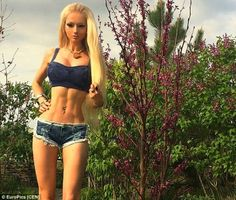 """""""Don't Call Me Human Barbie!"""" Doll-Like Woman Says It's Degrading [Click to Expand]"""