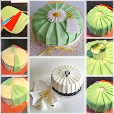 Baby Shower Cakes And Frosting Recipes Fondant Cake Tutorial, Fondant Tips, Icing Flowers, Fondant Flowers, Cake Decorating Techniques, Cake Decorating Tutorials, Bird Cakes, Cupcake Cakes, Cake Decorating Piping