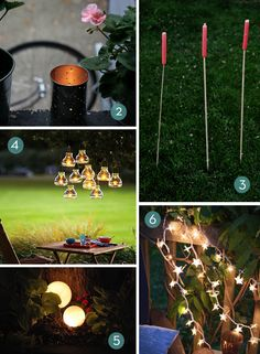 11 DIY Outdoor Mood Lighting Projects