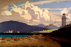 Hahnemuhle PHOTO RAG Fine Art Paper (other products available) - Original oil painting for London Midland Scottish Railways (LMS) poster.<br> - Image supplied by National Railway Museum - Fine Art Print on Paper made in the UK Fine Art Prints, Framed Prints, Canvas Prints, Framed Wall, National Railway Museum, Railway Posters, Posters Uk, Vintage Travel Posters, Poster Vintage