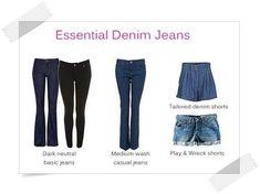Essential Jeans - Your Wardrobe Essentials