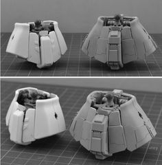 SIDE3 MG 1/100 高機動型ザクII レジンキット改造パーツ - INASK