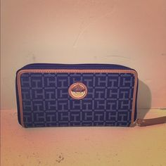 Tommy Hilfiger blue wallet New without tags, Tommy wallet. Tommy Hilfiger Bags Wallets