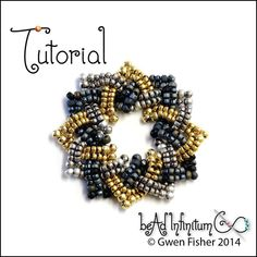 TUTORIAL Beaded Celtic Knots Part 2 Rings Rosettes & di gwenbeads