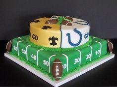 super bowl cakes | Super Bowl Cake — Football / NFL